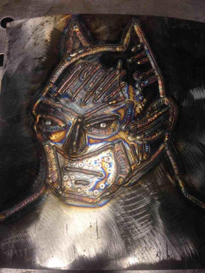 Spawanie artystyczne ramiona for Cool things to weld