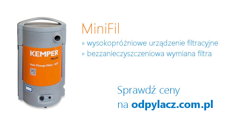 Przejezdny system odciągowy MiniFil